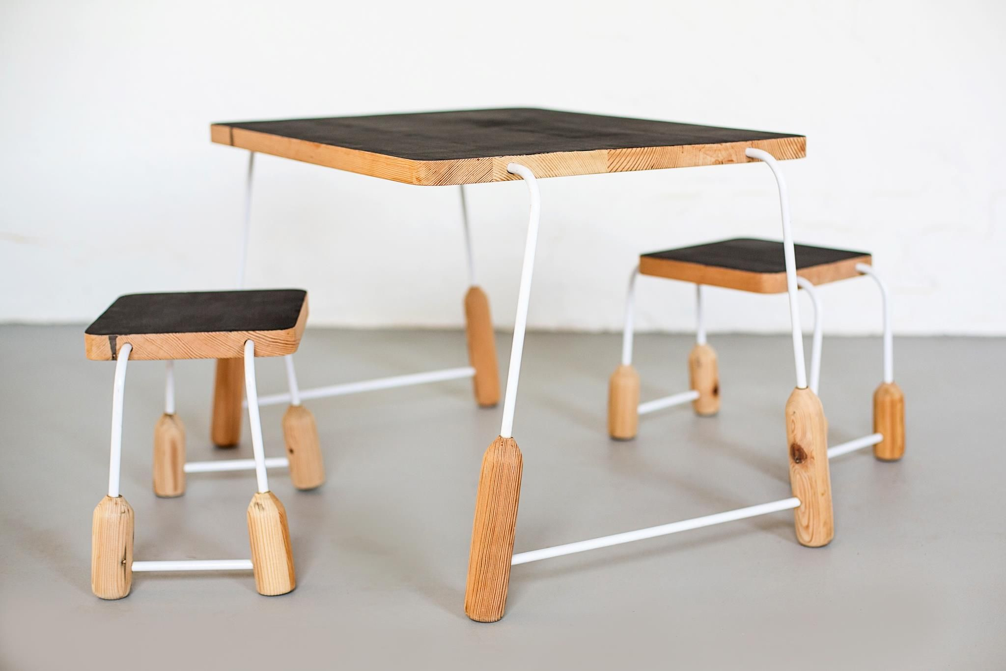 Milkshed takes reclaimed wood and transform it into adorable furniture pieces. ALL profits are donated to worthy causes ǀ via The Design Tabloid