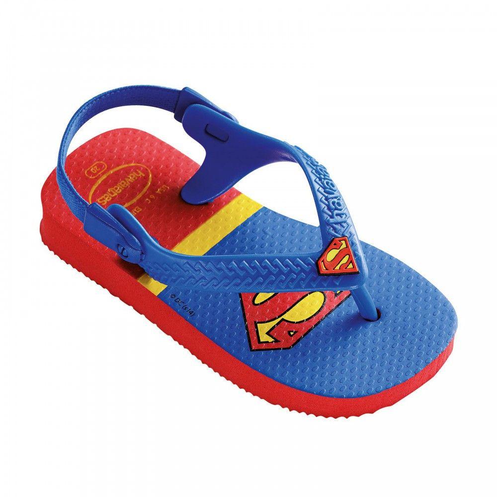 aa5fc28470e51 Havaianas Baby Heroes Flip Flop Superman Baby