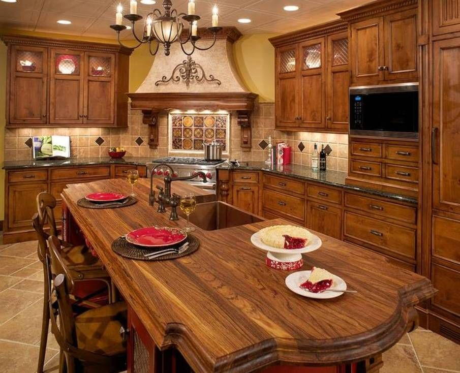 Tuscany Decor For The Mediterranean Style Kitchen Which Has Become Increasingly Por As More And People Find Warmth Of Comfort Historic