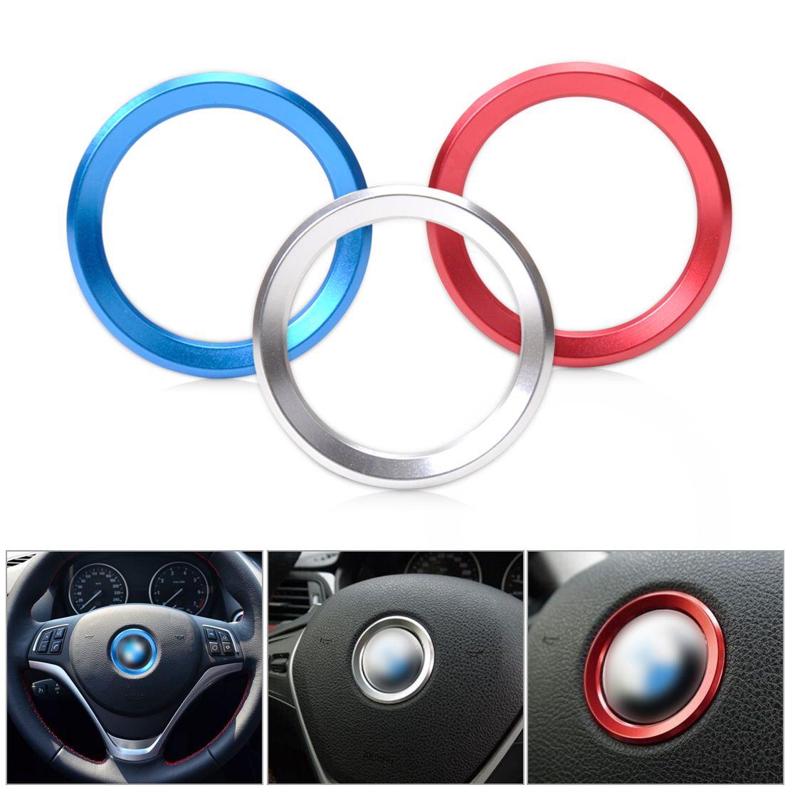 beler Car Steering Wheel Center Ring Cover Trim For BMW 1