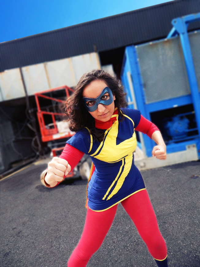Cosplay Blog: Submission Weekend! Kamala Khan as Ms. Marvel from...   Best cosplay, Marvel ...