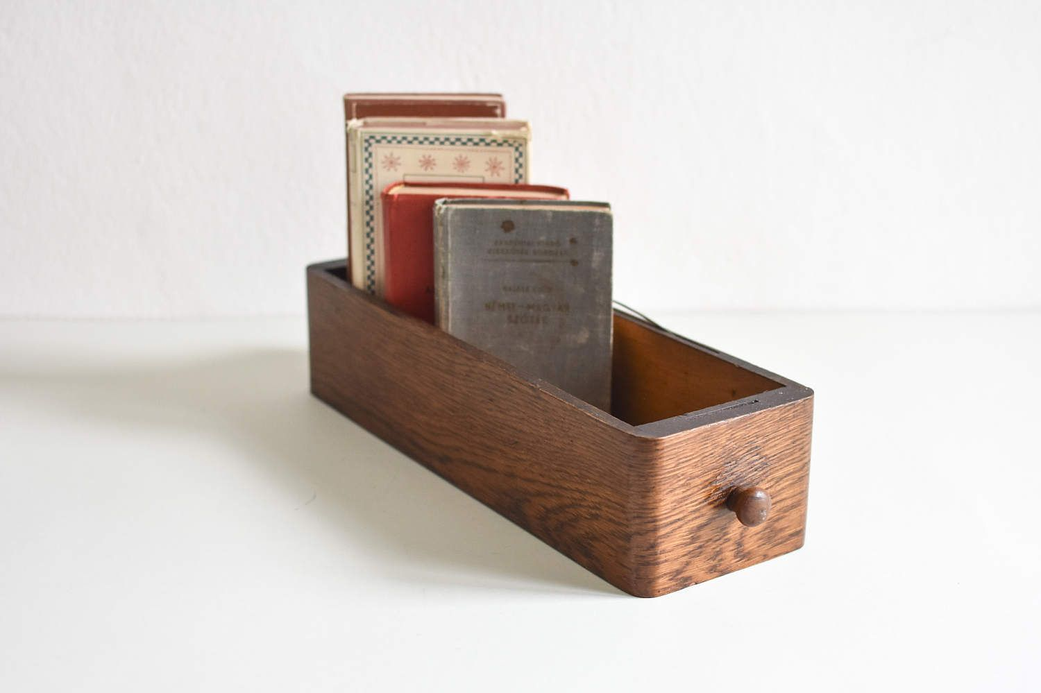 Kisten Aus Holz Vintage Drawer Card File Box Wooden Box Wooden Drawer Vintage
