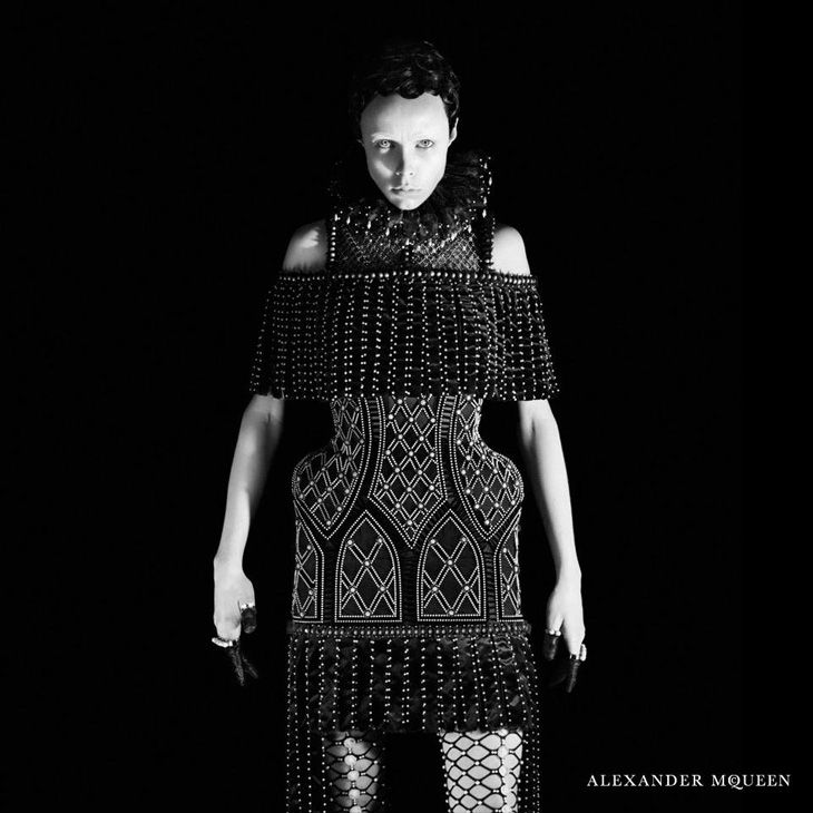 Edie Campbell by David Sims for Alexander McQueen Fall Winter 2013 campaign