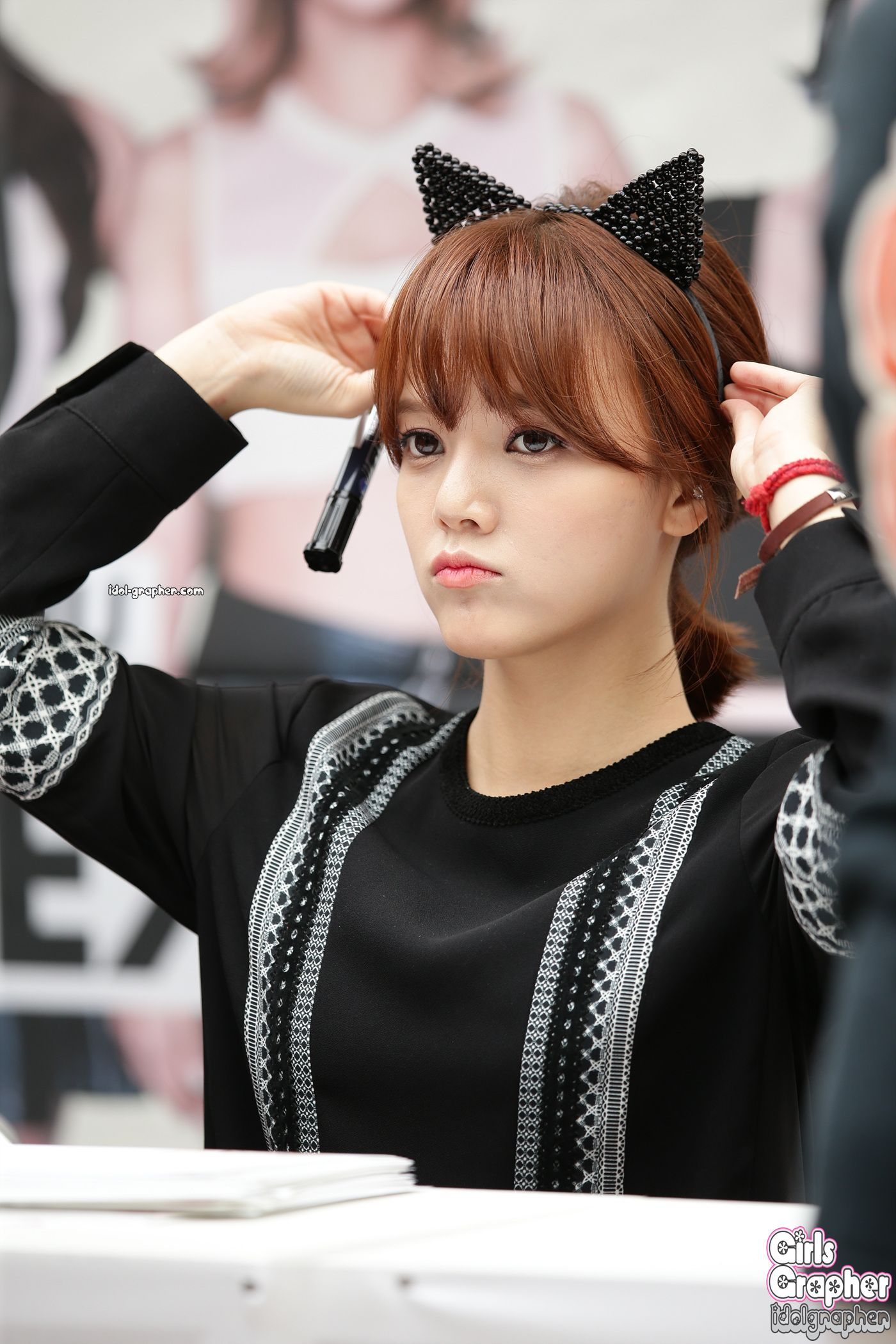AOA Jimin That bob haircut just gets to me on a personal level ^.^ she's just too cute   Girls ...