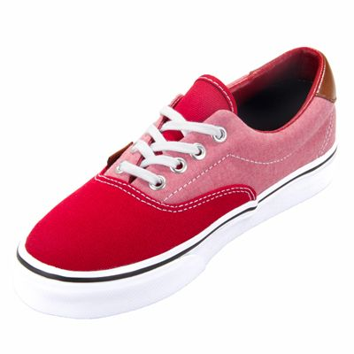 bc5a73995d Vans ERA 59 Canvas and Chambray Chili Pepper Shoe ! Buy now at GetShoes.ca
