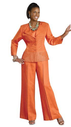 Ladies Linen Pant Suits