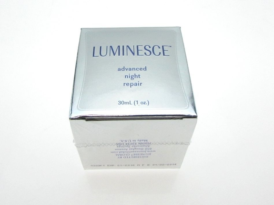 NIB Advanced Night Repair Skin Cream by LUMINESCE 30ml (1oz) MSRP $99.95 #Luminesce