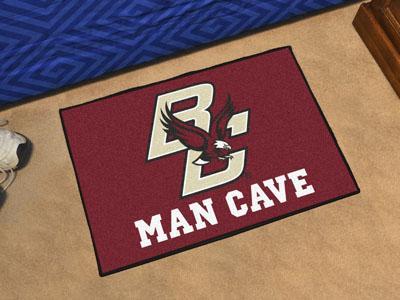 "Boston College Man Cave Starter Rug 19""x30"""