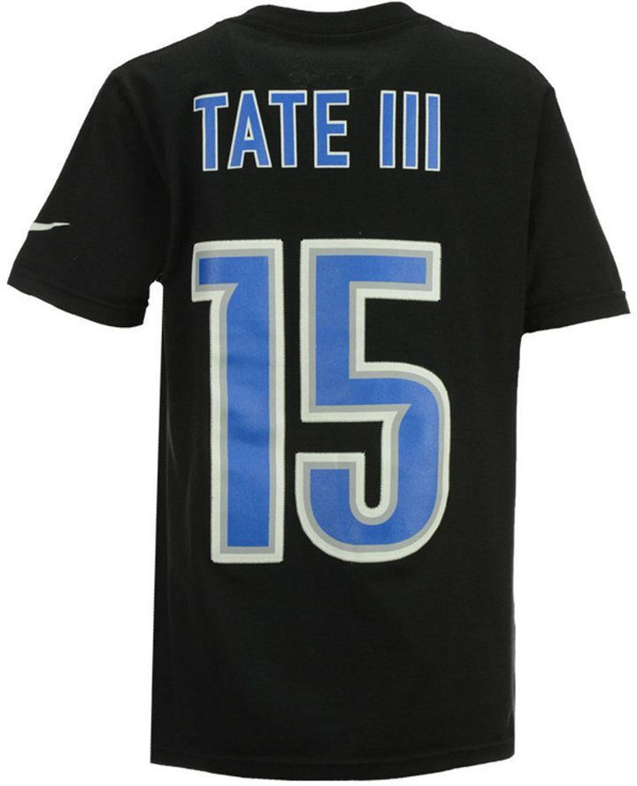 73bdb298f Nike Golden Tate Detroit Lions Pride Name and Number T-Shirt