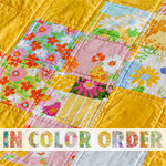 In Color Order: Flagged Quilt: Mini Tutorial + Giveaway! | Modern Quilting | Sewing Tutorials