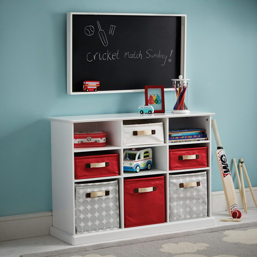 toy storage furniture. Abbeville Storage - Mixed Nine Cube White Toy Furniture