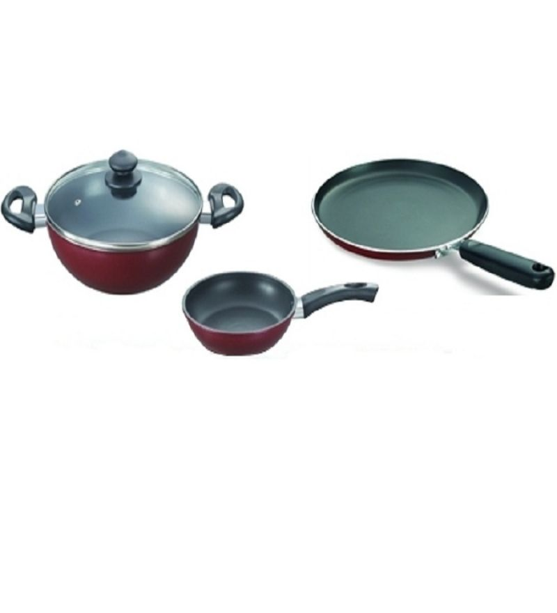 prestige 3pcs omega deluxe- build your kitchen set | prestige