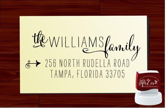 Return Address Stamp Custom calligraphy  - SELF INKING - style 1120-  personalized wedding or christmas gift  #address #amandacalligraphy #calligraphy #custom #inking #return #stamp #style