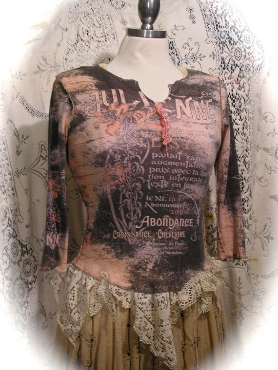 Altered Couture Clothing T-Shirt | Altered Couture Clothing T-Shirt | ... cottage tee shirt, altered ...
