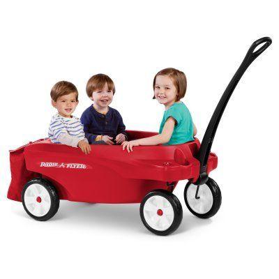 Radio Flyer Triple Play Kids Wagon - 3332X