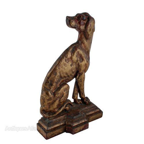 Antiques Atlas - Victorian 'Dog' Door Stop - Antiques Atlas - Victorian 'Dog' Door Stop Cats & Dogs Pinterest