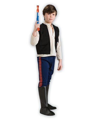 Deluxe Han Solo Kinder Kostum Star Wars Kinderkostum Grosse L 8 10