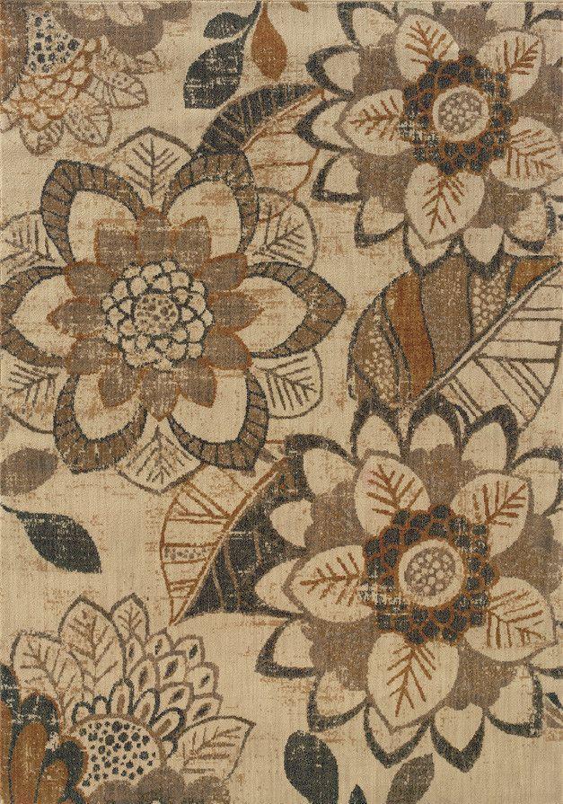 Medina Ivory/Grey Area Rug