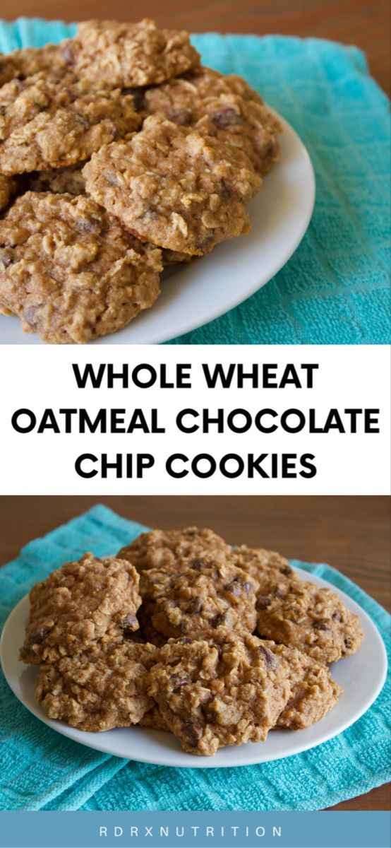 The Best Whole Wheat Cookies