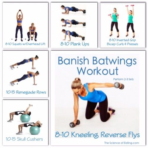 Banish Batwings Workout Health Fitness