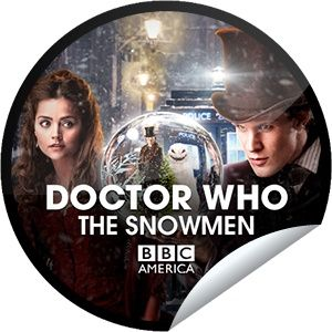 getglue stickers dr who series snowman   Doctors