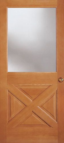 Good Front Door   Simpson, Thermal Sash, 7031.Door Can Be Stained Or Painted