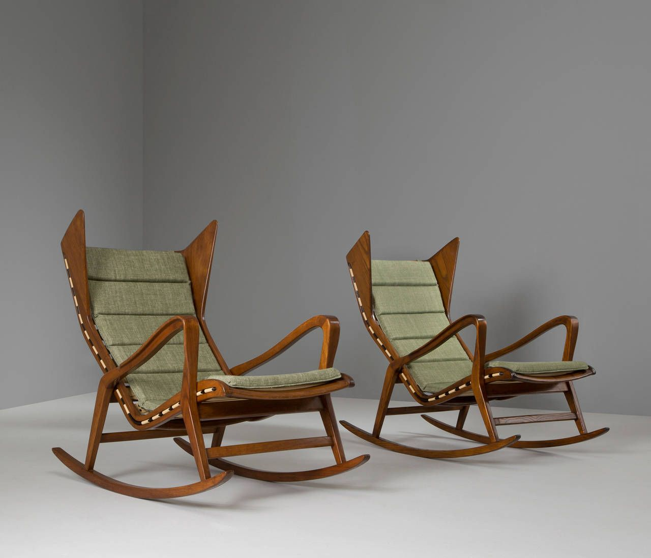 Two Rocking Chairs For Cassina | From A Unique Collection Of Antique And  Modern Rocking Chairs