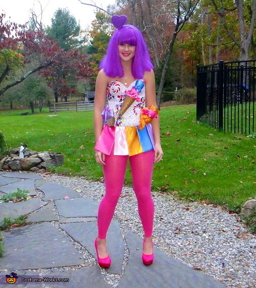 Candyland Katy Perry - 2013 Halloween Costume Contest