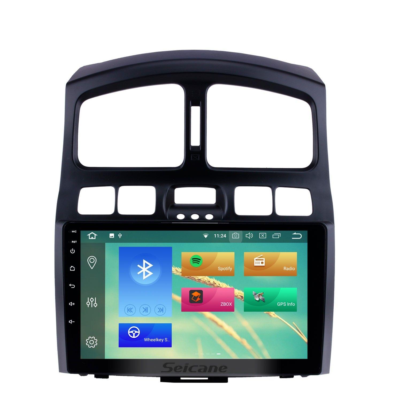 Hd Touchscreen 9 Inch Android 10 0 Gps Navigation Auto Stereo For 2005 2006 2007 2008 2009 2015 Hyundai Santafe Bluetooth Phone Mirror Link Wifi Usb Carplay Sup Gps Navigation Car Stereo Gps