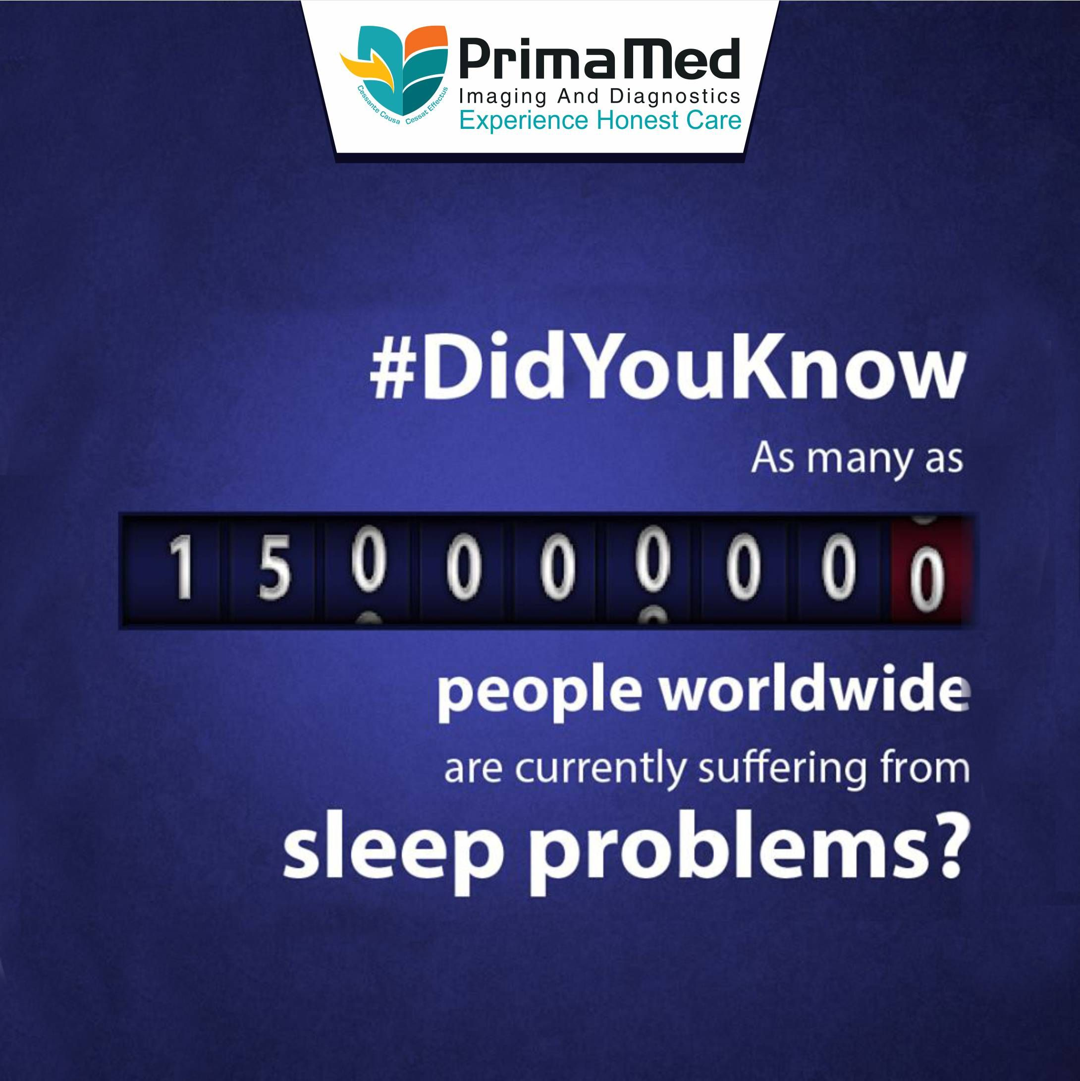 Sleep Disorder Is A Public Health Epidemic Look After Your Health