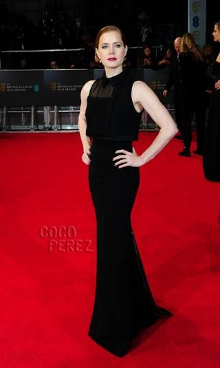 Amy Adams LBD at BAFTA 2014