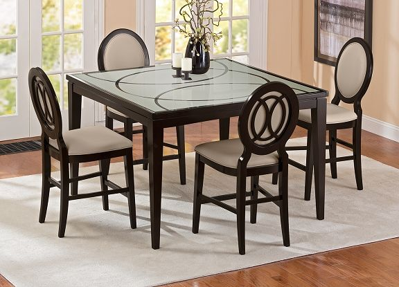 Cosmo Ii Dining Room Collection Value City Furniture Counter Height Table 699 99 Value City Furniture Furniture Stylish Dining Room