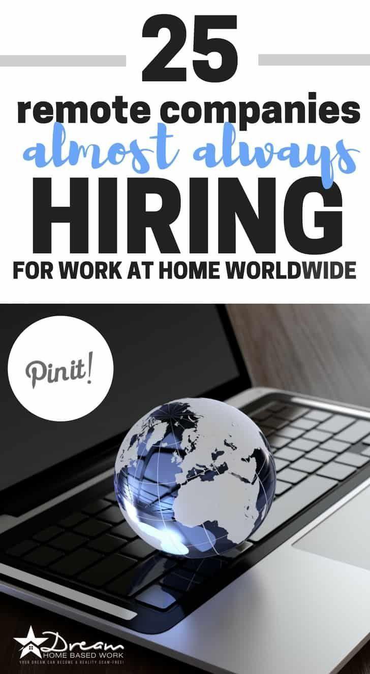 25+ Arbeiten von Heimunternehmen, die fast immer landesweit einstellen   – Legitimate Work from Home Jobs for Stay at Home Moms
