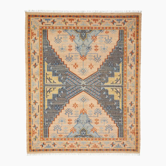 Avila Rug 9 X12 Multi West Elm In 2020 Rugs Abstract Rug West Elm