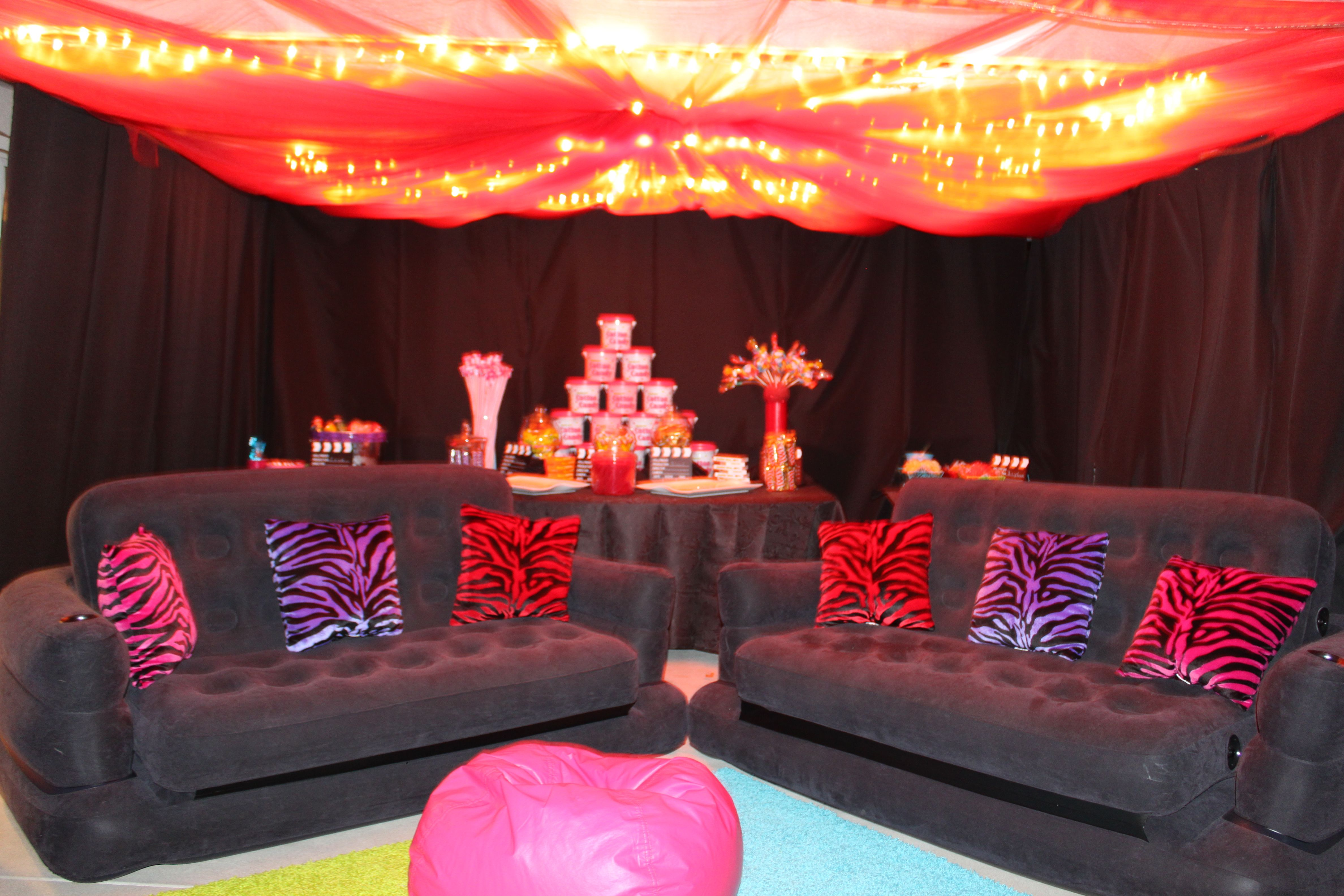 Pin By Julie Crouch On Hair Sleepover Birthday Parties Spa Birthday Parties Candy Bar Party