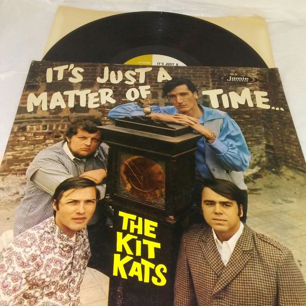 The Kit Kats Vinyl LP It's Just a Matter of Time LPS 3029 Ex US 1967 Rock Pop #PopRock