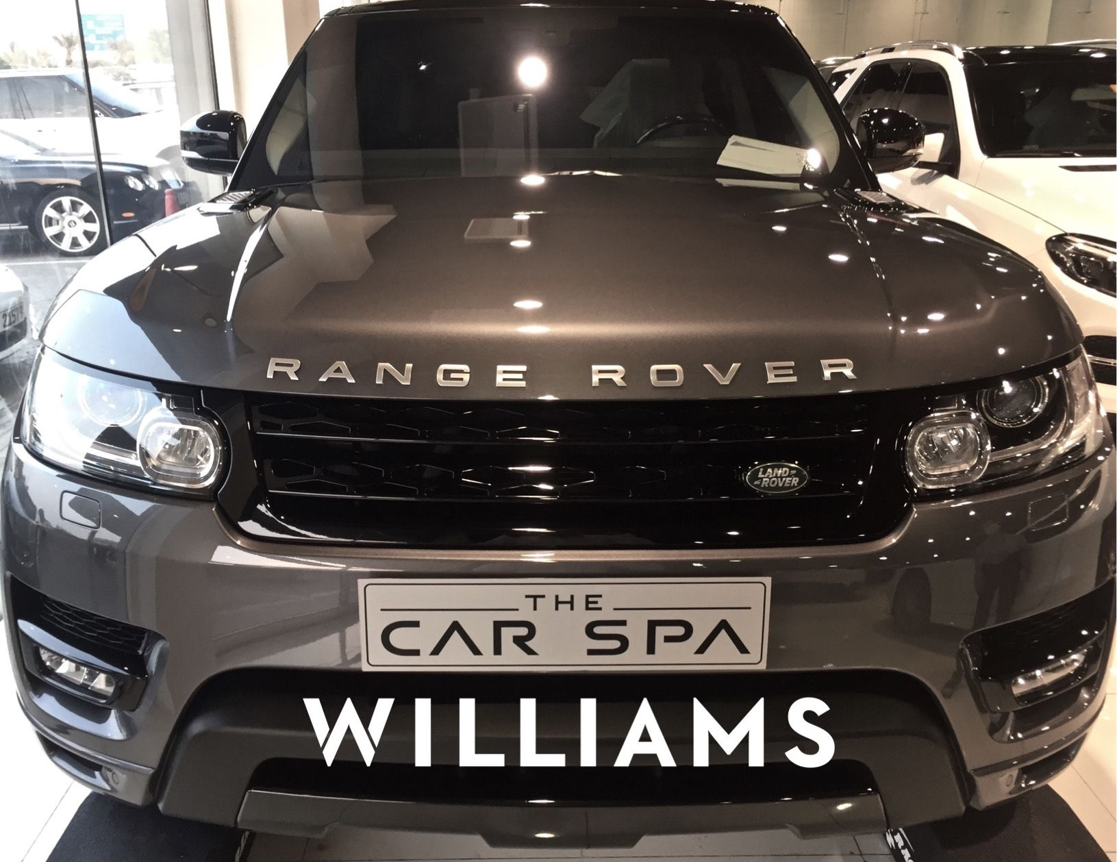 Williams Ceramic Coating Does Give That New Car Feeling Right After It S Applied This Range Rover Here Attests Walk Into Car Vehicle Care Car Detailing