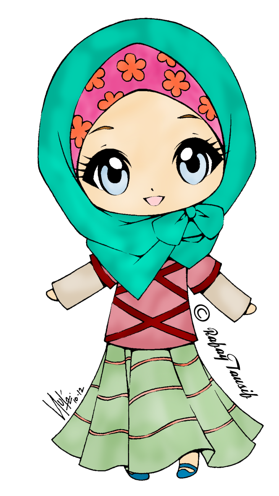Doodle Muslimah Carian Google Muslim Pinterest Search And