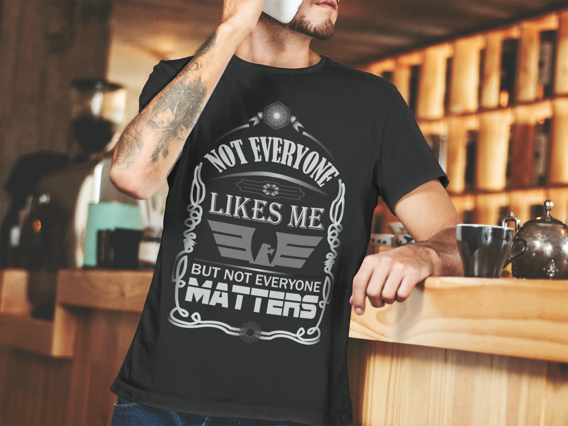 Show Your Attitude By This Funny Tshirt For Men This Funny Quote Tshirt Is Also Available On Green Color Tshirt Design Men Funny Tshirts Funny Tshirt Design
