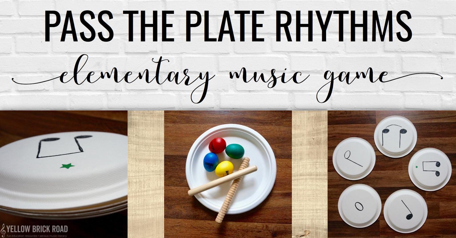 Pass The Plate Rhythms