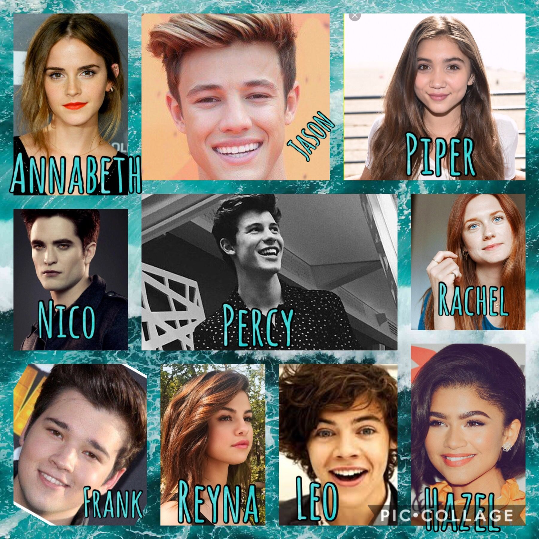 Dream Cast For Percy Jackson Movies Percy Jackson Movie Percy Jackson Movie Cast Percy Jackson