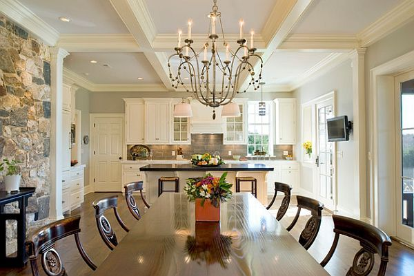 5 Inspiring Ceiling Styles For Your Dream Home  Coffer Ceiling Best Coffered Ceiling Dining Room Design Decoration