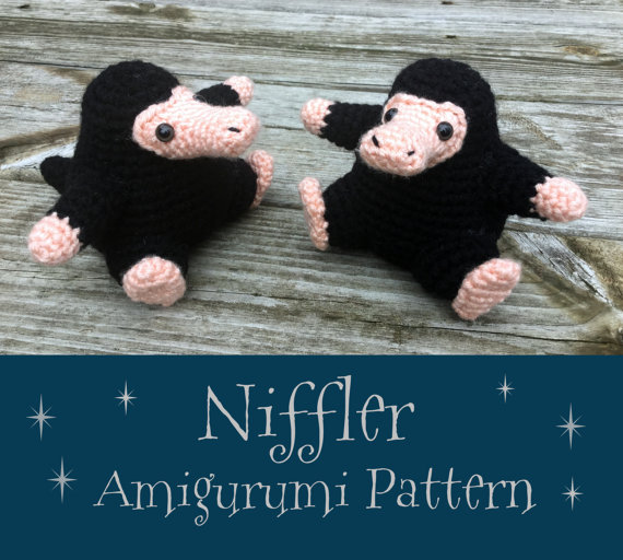 Crochet Pattern: Niffler Amigurumi PDF Instant Download | Häkeln ...
