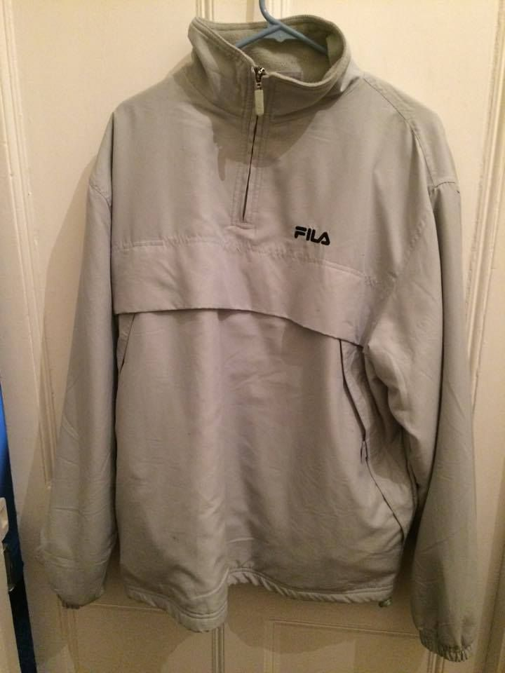 fila 1 4 zip. vintage fila 3/4 zip pullover jacket | ebay 1 4