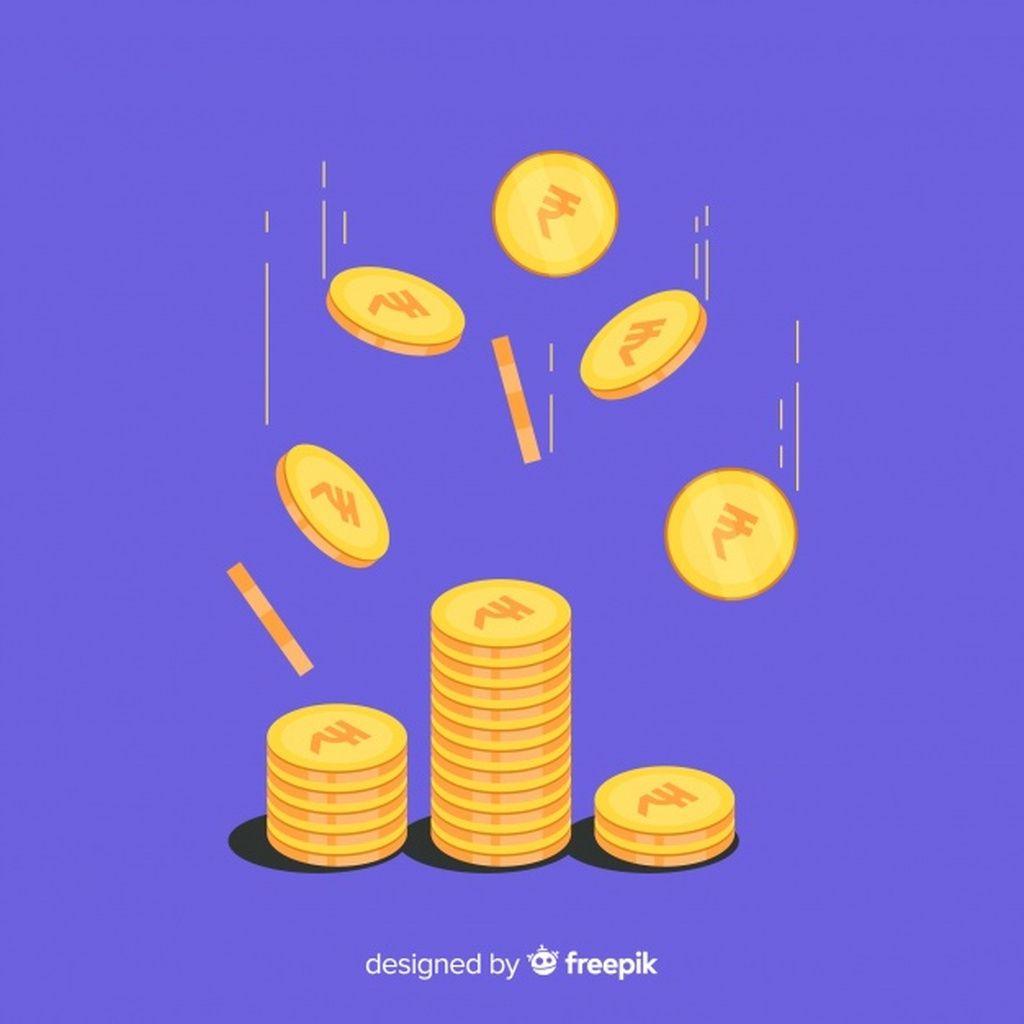 Indian Rupee Coins Falling Background Paid Paid Ad Rupee Background Falling Indian Rupees Vector Free Freepik