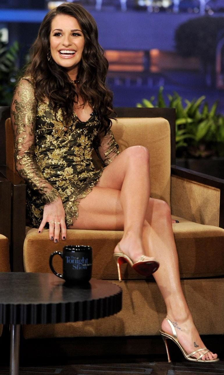 images Lea michele sexy hot