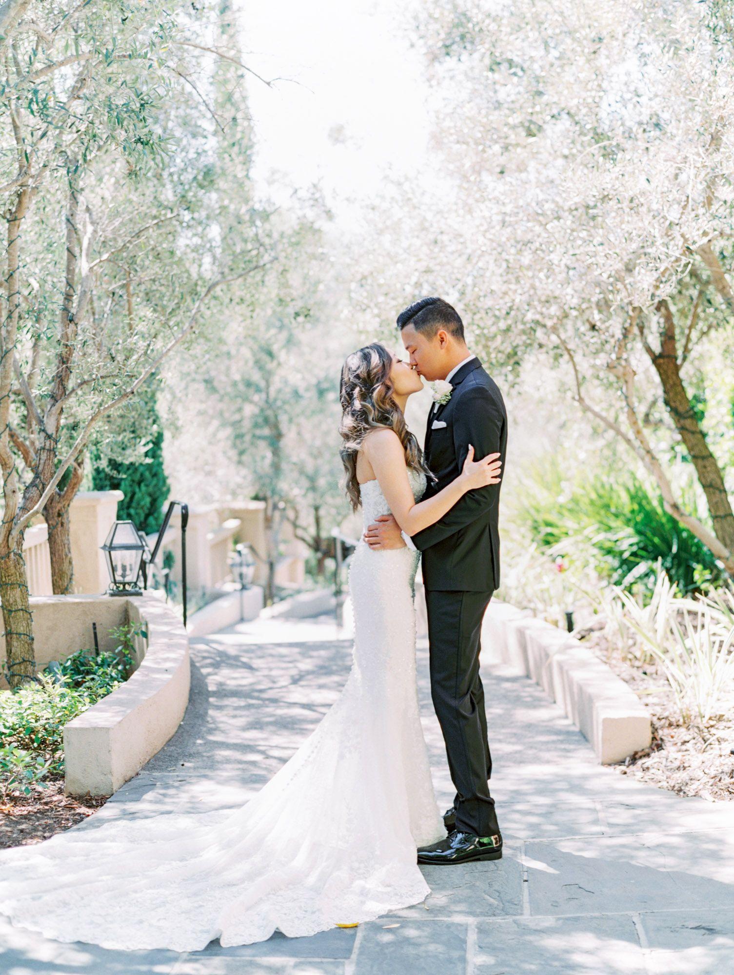 Esther + Yoon's Garden Wedding in 2020 | San diego wedding ...