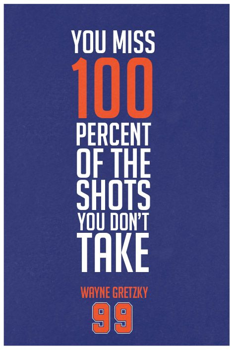 ''Wayne Gretzky Quote on Print. See more at www