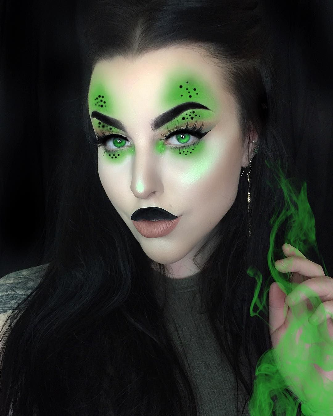 Shego Makeup Lips Halloween