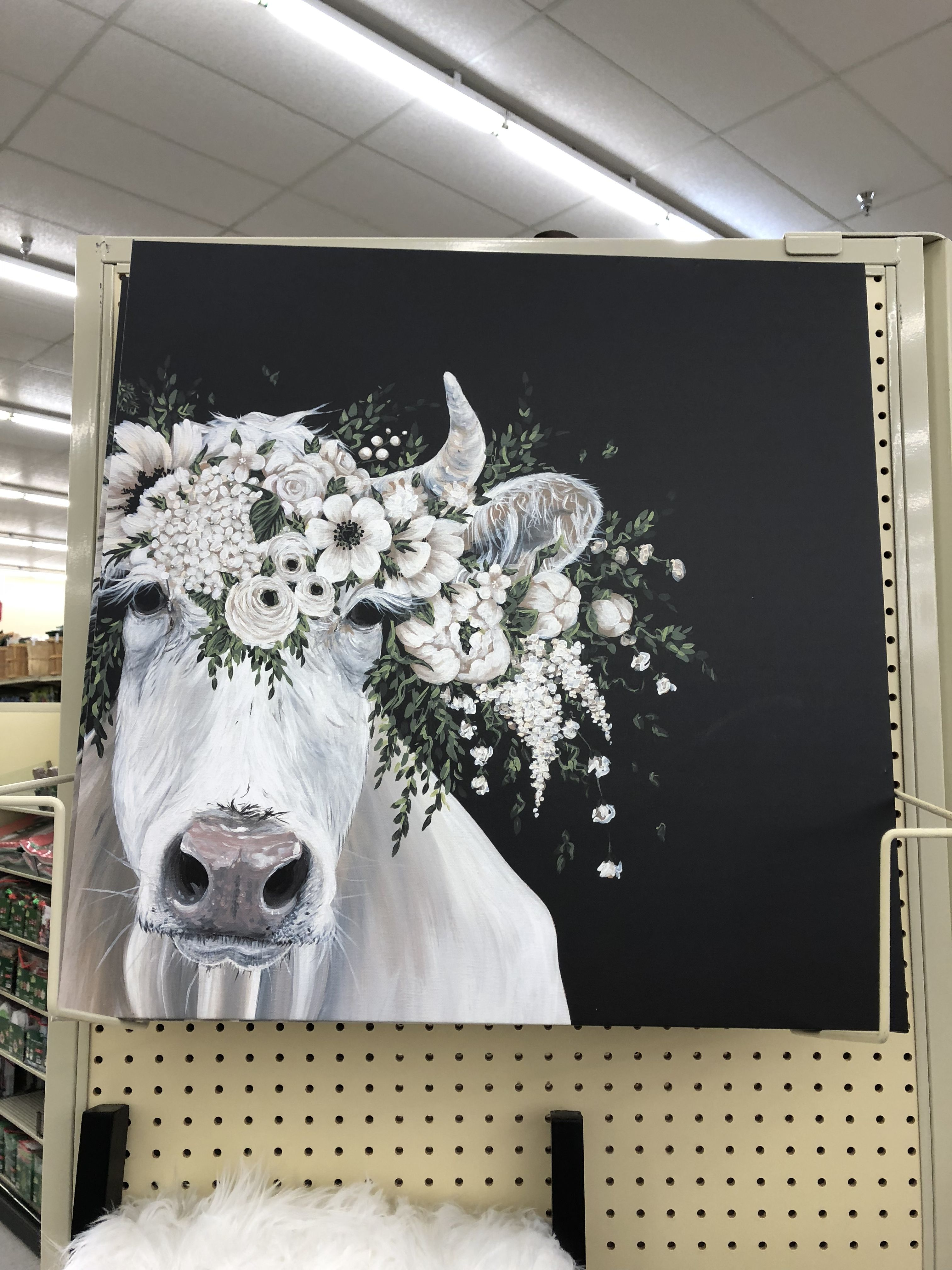 Pin by Jenna Reed on Art in 2019 | Cow art, Crown painting ...